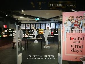 VT BTS cosmetics