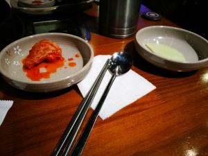 Kimči na levi