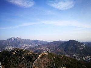 Hribovje v neposredni bližini Seoula