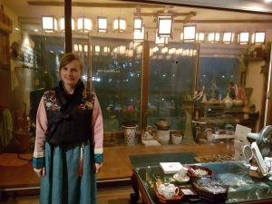 V hanboku moževe mame