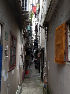 Hidden street in Shanghai