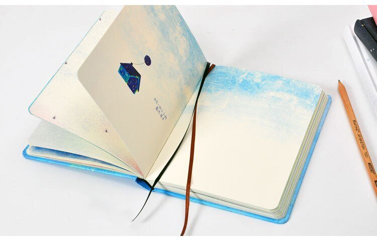 Notebook diary- blue 2
