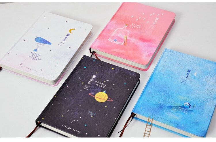 Notebook diary- blue